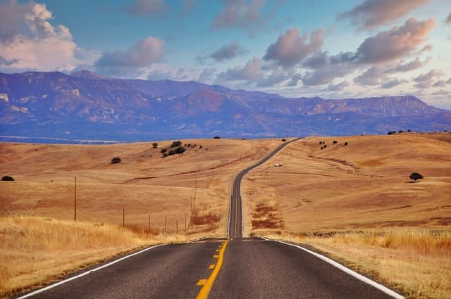 road-desert-motorbike